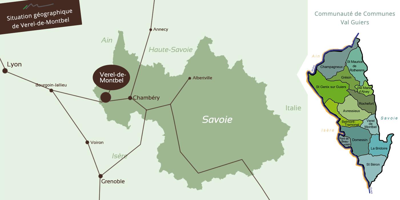 Verel-de-Montbel, commune située en Savoie - Communauté de communes Val Guiers