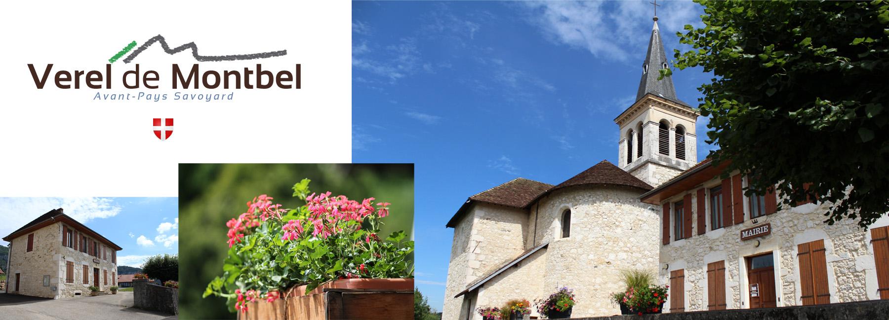 Site de Verel-de-Montbel, commune située dans l'Avant-Pays Savoyard - 73330 - Mairie, Eglise