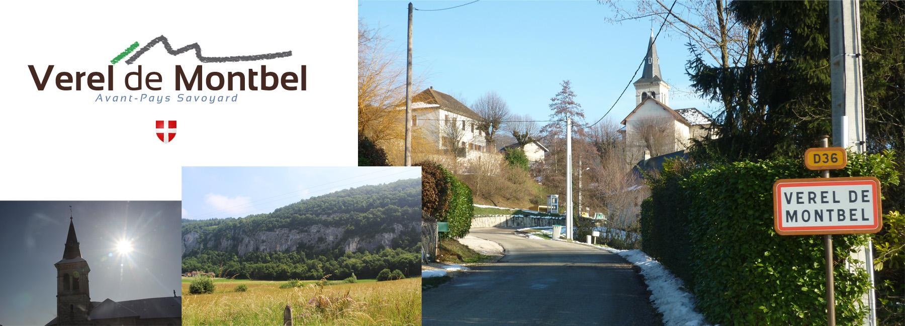 Verel-de-Montbel, commune située dans l'Avant-Pays Savoyard - 73330 - Village